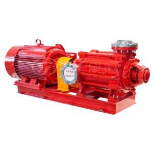 Multisatge high pressure centrifugal fire pump