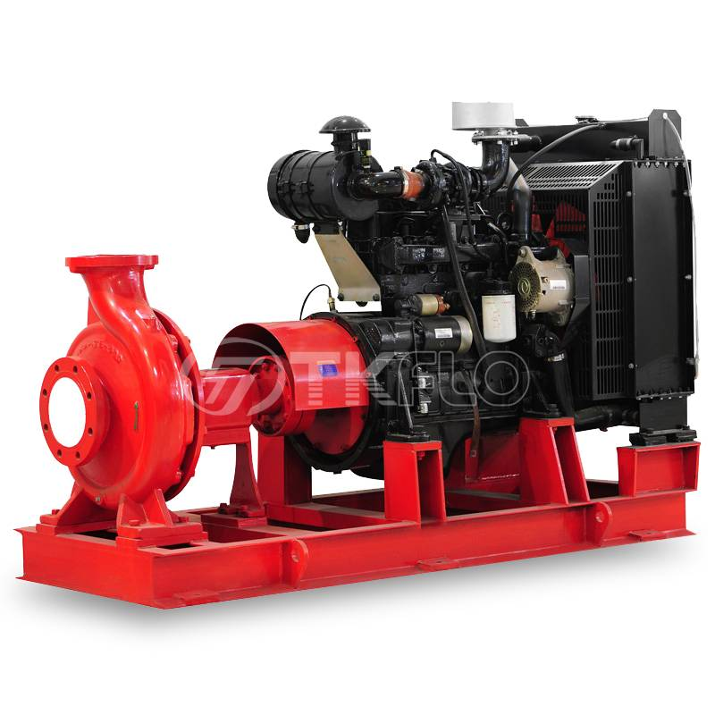 Single stage end suction centrifugal type NFPA FM fire pump Featured Image