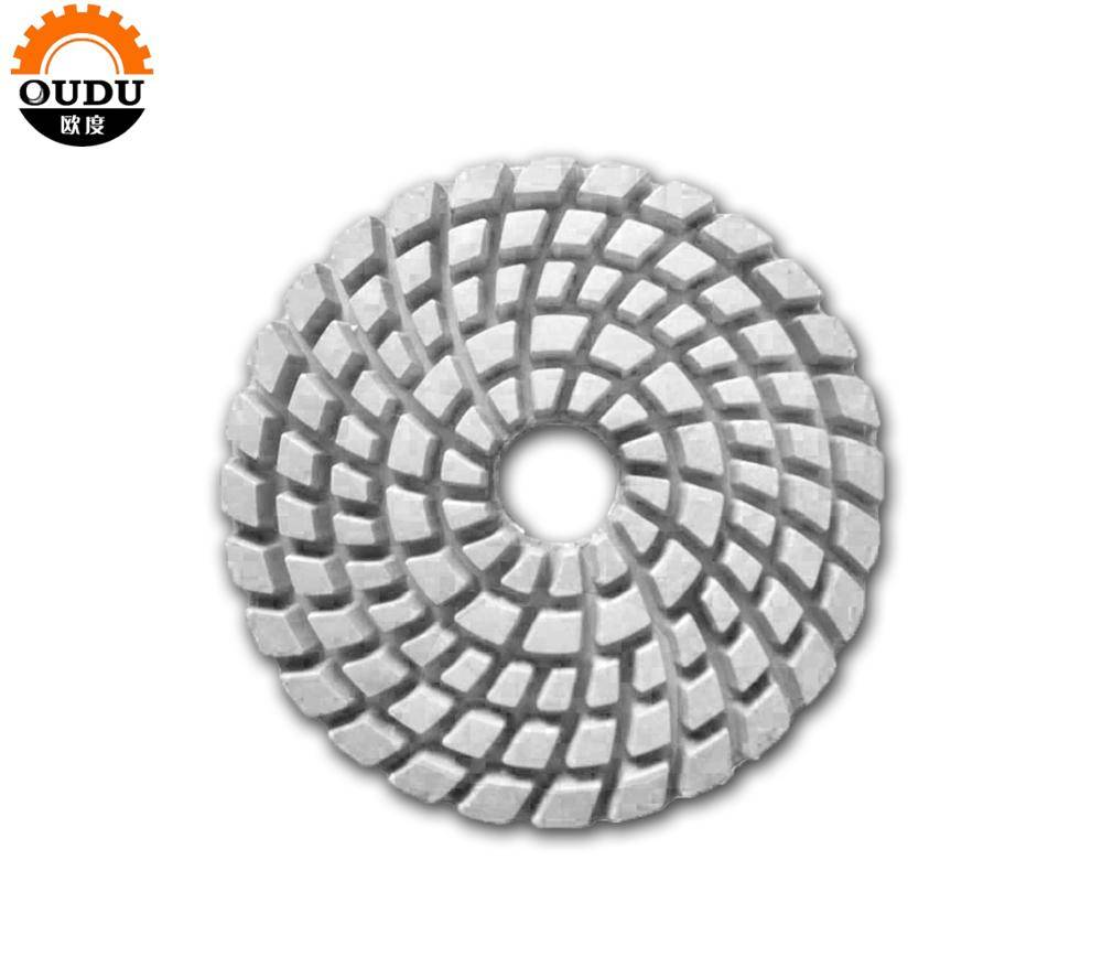 Diameter 150 diamond polishing pad shaping tool thickness 6mm for marble