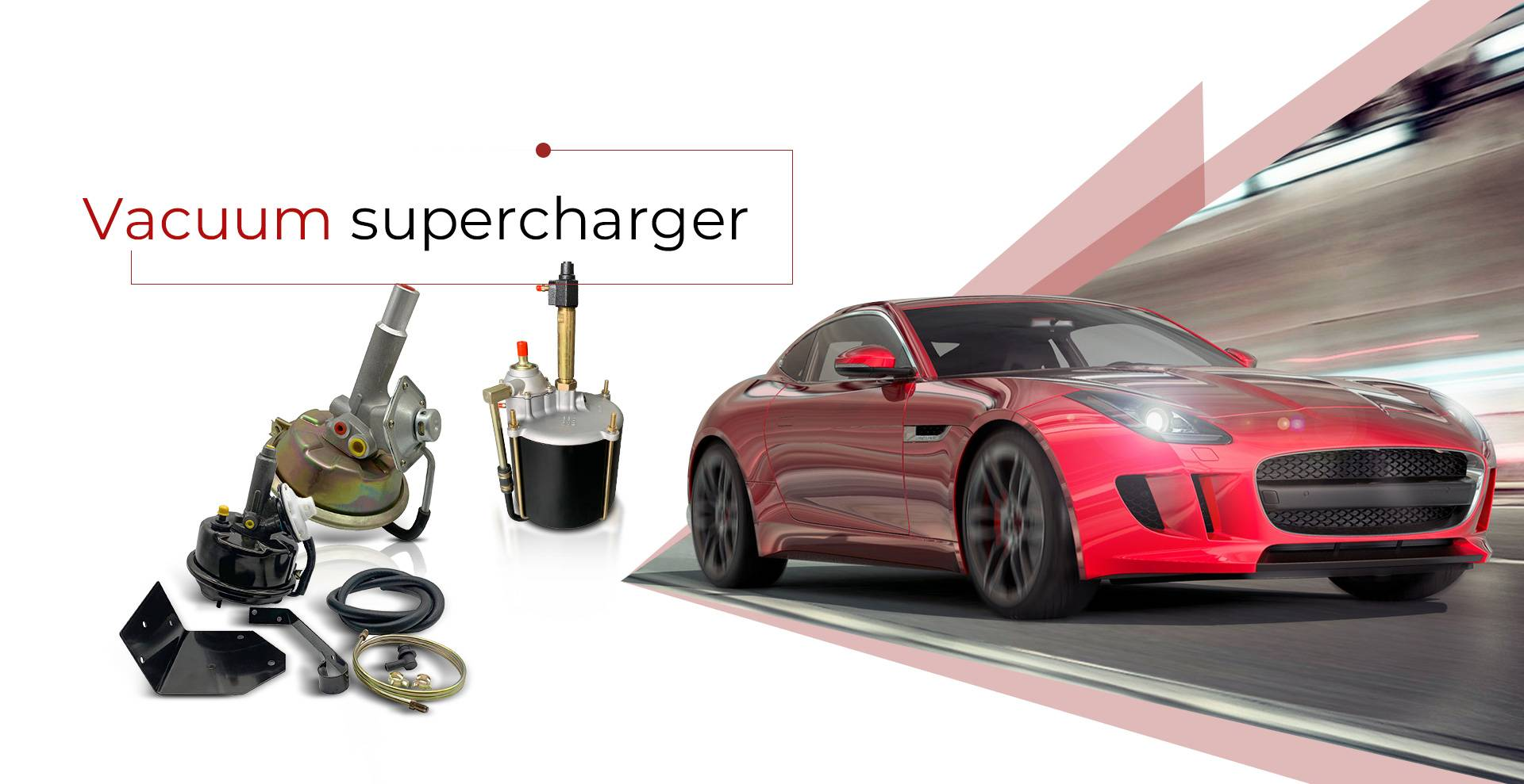 Vacuum Supercharger