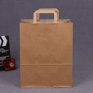 Brown/White Kraft Paper Bags with Handles, Birthday Parties, Restaurant takeouts, Shopping, Merchandise, Party, Retail, Gift Bags