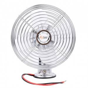 "full metal 12V 24V Car oscillating fan 6""/8"""
