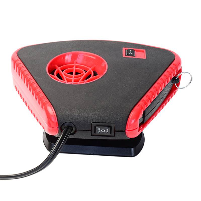 Portable Windshield Car Electronic Heater Fan 12V – Portable Car Defogger Defroster 12V Truck Car Heat Cooling Fan Plug in Cigarette Lighter