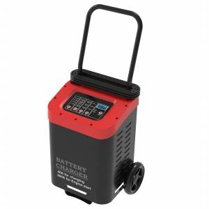 12V/40A,24V/20A Wheeled Automatic Battery Charger and 200A Engine Starter Boost Charger