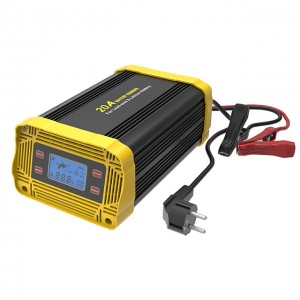 12V/24V 20A Smart Battery Charger for Lead-acid & Lithium Battery