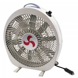 3 speed control free standing 12 inch blade 12 volt car cooling box fan for RV/Marine
