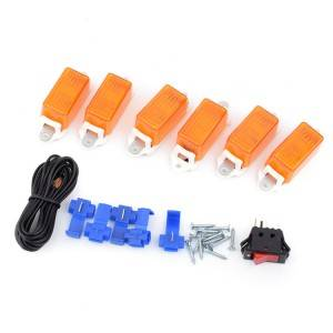 6PC Marker Clearance light kits