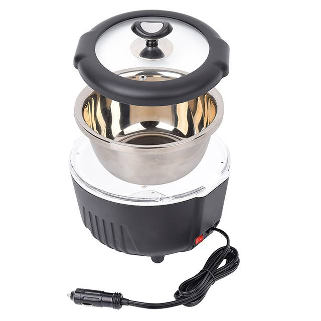 DC12V Portable Heating Lunch Box Stove, Car Truck Food Warmer
