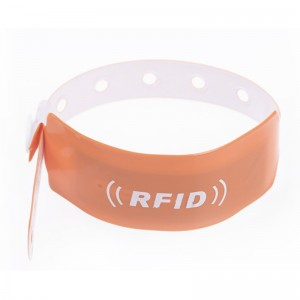 Disposable paper Wristband-PVC1001