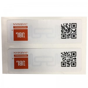 RFID Anti-counterfeiting labels