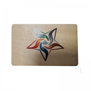 Wooden  RFID Blocking Card