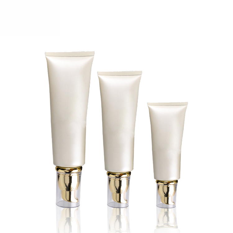 OEM/ODM China Empty Cream Jars - 5 Layers Plastic Cosmetic Packaging Airless Cream Tube – TOPFEEL PACK