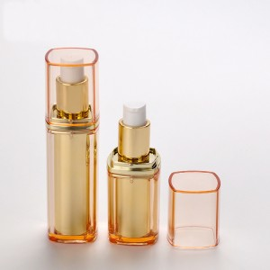 15ml 30ml Square Double Wall Skin Care Cream Use Airless Cosmetic Bottle