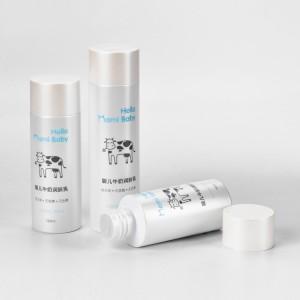 New Post Consumer Resin (PCR) Material Packaging Plastic Cosmetic Toner Bottle