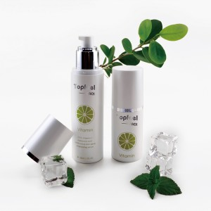 Skin Care Packaging 50ml 100ml Cylinder Plastic Cosmetic Airless Pump Bottle