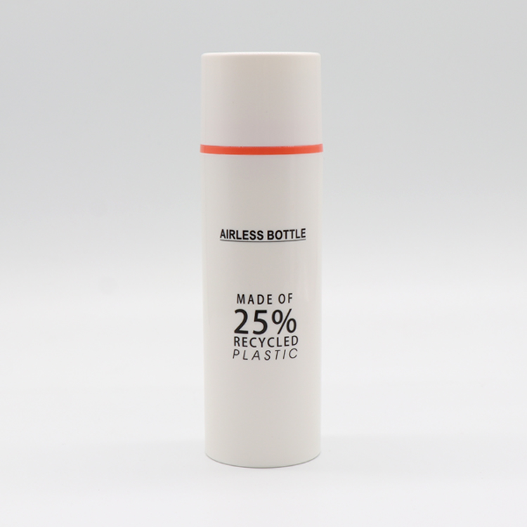 Good Quality Pcr Bottles - 25% Recycled Plastic Eco-friendly PCR Material Packaging Airless Pump Bottle – TOPFEEL PACK