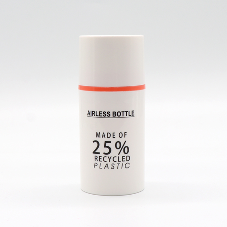 High Quality Pcr Plastic Bottles - 25% Recycled Plastic Eco-friendly PCR Material Packaging Airless Pump Bottle – TOPFEEL PACK