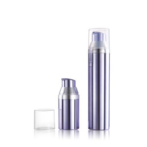 Cosmetics skincare container sets 30ml 50ml 75ml 100ml pp airless pump bottle