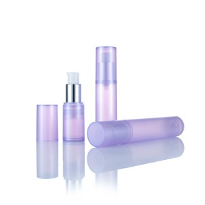 High Quality Customized Color 15ml 30ml 50ml Plastic Cosmetic Airless Bottle