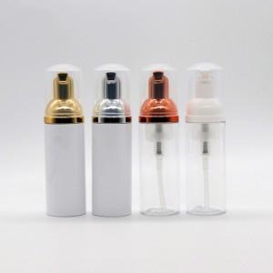 30ml 50ml 80ml PET Empty Silver/Rose Gold Cosmetic Foam Pump Bottle