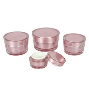 Luxury Cream Jar Cosmetic Packaging with Cap