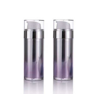 Skin care airless pump cosmetic bottle package