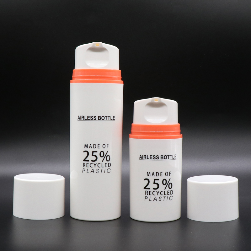 High Quality Pcr Plastic Bottles - 25% Recyclable Plastic Eco-friendly PCR Material Airless Pump Bottle – TOPFEEL PACK