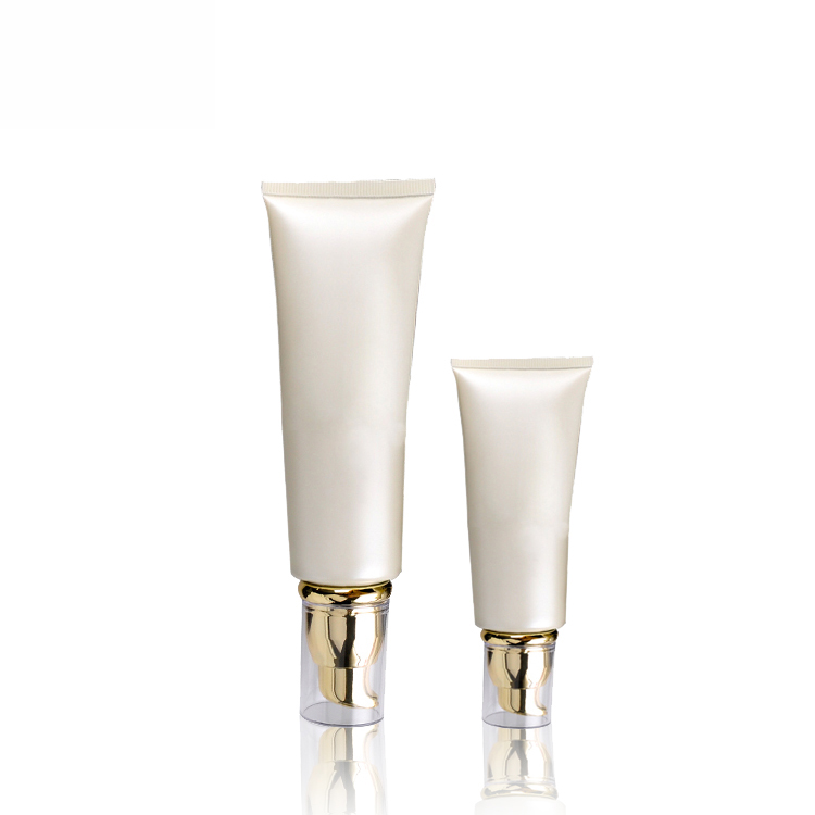 Wholesale White Cosmetic Jar - 5 Layers Plastic Cosmetic Packaging Airless Cream Tube – TOPFEEL PACK