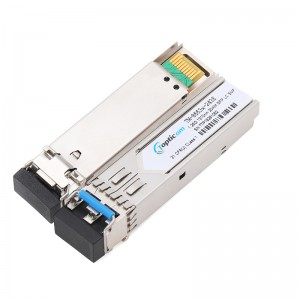1.25Gb/s SFP 1310nm 40km DDM Duplex LC optical transceiver