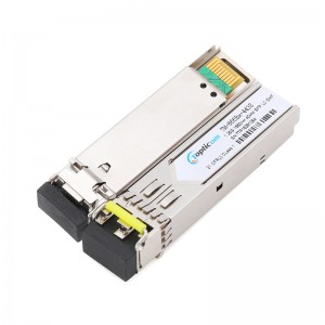 1.25Gb/s SFP 1550nm 40km DDM Duplex LC optical transceiver