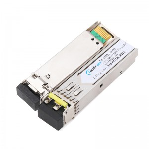 1.25Gb/s SFP 1550nm 80km DDM Duplex LC optical transceiver