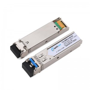 1.25Gb/s SFP CWDM 120km DDM Duplex LC optical transceiver