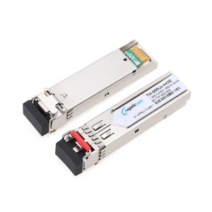 1.25Gb/s SFP CWDM 40km DDM Duplex LC optical transceiver