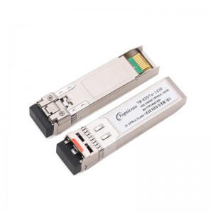 10Gb/s SFP+ CWDM 1270nm~1610nm 10km DDM DFB LC optical transceiver