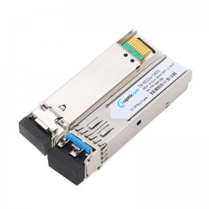 155Mbps SFP 1310nm 20km DDM Duplex LC optical transceiver