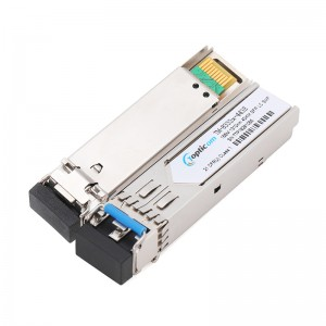 155Mbps SFP 1310nm 40km DDM Duplex LC optical transceiver