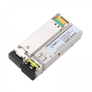 3Gb/s SFP+ 1550nm 80km DDM Duplex LC optical transceiver