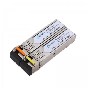 3Gb/s SFP+ BIDI 1490nm/1550nm 80km DDM Simplex LC optical transceiver