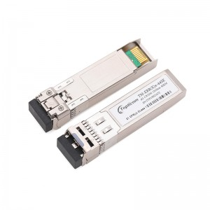 6Gb/s SFP+ CWDM 40km DDM DFB Duplex LC optical transceiver