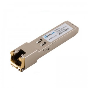1000BASE-T SFP Copper RJ-45 100m Transceiver Module