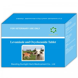 Levamisole and Oxyclozanide Tablet
