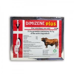 Diminazene Aceturat and Phenazone Granules for Injection