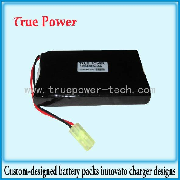 Liion Battery Pack 18650 14.8V 4.8Ah