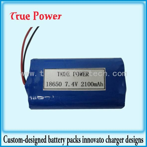 18650 lithium ion battery pack