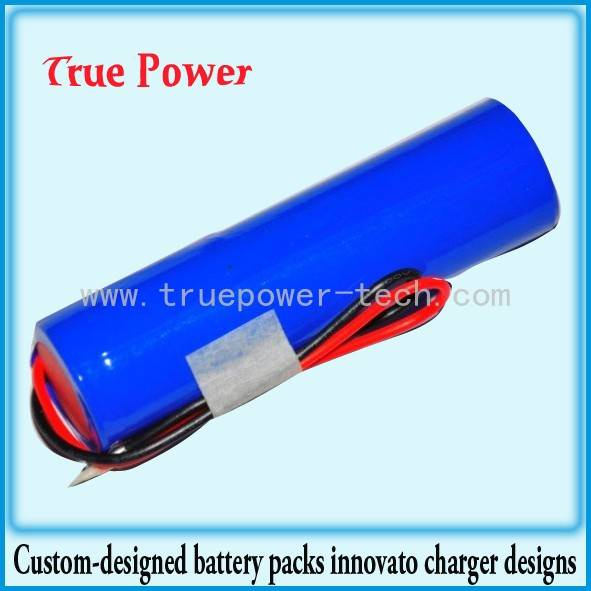 Li-ion Battery for 3.7V 18650
