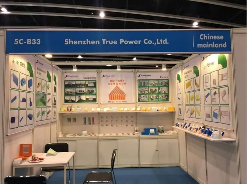 TRUE Power attended HK fair 12th Oct 2019.