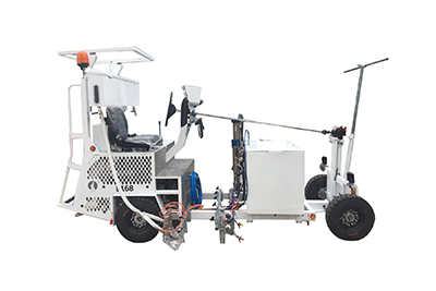 Driving type cold paint road marking machine Featured Image