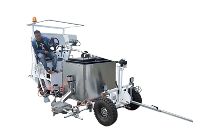Driving type thermoplastic(convex) road marking machine Featured Image