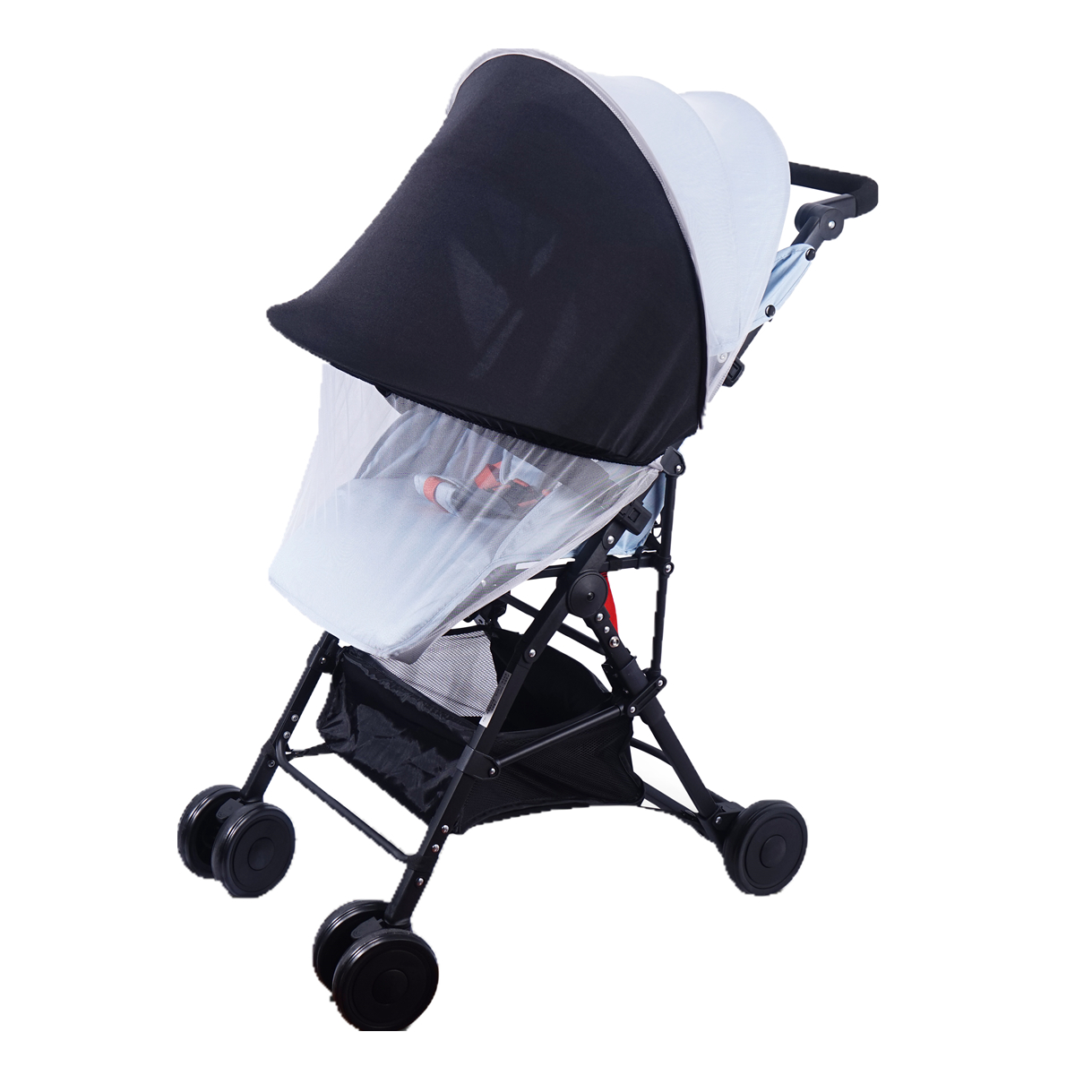 Baby Summer Safe Stroller Accessories Stroller Mosquito Net