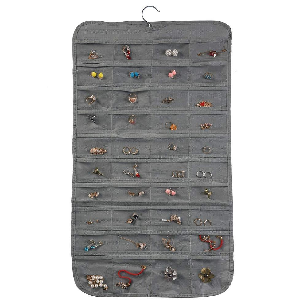 80 Pockets Jewelry Hanging Kids Storage Bins Custom Packaging Clothing Box Foldable Fabric Storage Box